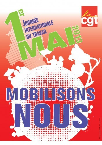 1, mai, 2013, drancy, cgt